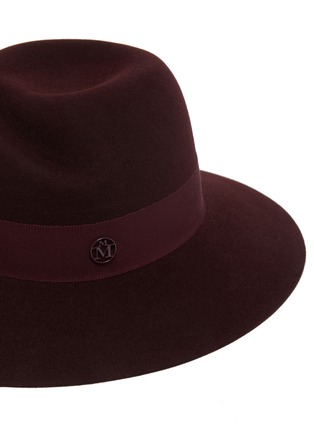 Detail View - Click To Enlarge - MAISON MICHEL - Virginie ribbon fur felt hat