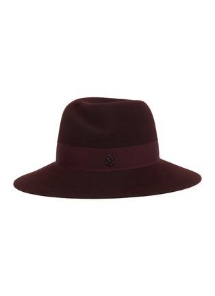 Main View - Click To Enlarge - MAISON MICHEL - Virginie ribbon fur felt hat