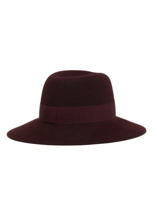 Figure View - Click To Enlarge - MAISON MICHEL - Virginie ribbon fur felt hat