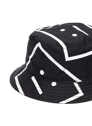 Detail View - Click To Enlarge - ACNE STUDIOS - Face motif bucket hat