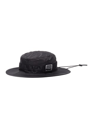 Main View - Click To Enlarge - ACNE STUDIOS - Plaque face patch bucket hat