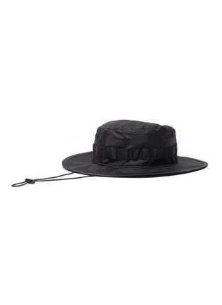 Figure View - Click To Enlarge - ACNE STUDIOS - Plaque face patch bucket hat