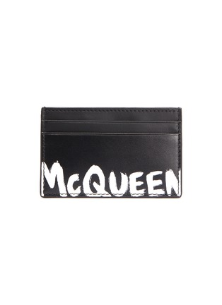 Main View - Click To Enlarge - ALEXANDER MCQUEEN - Graffiti card holder