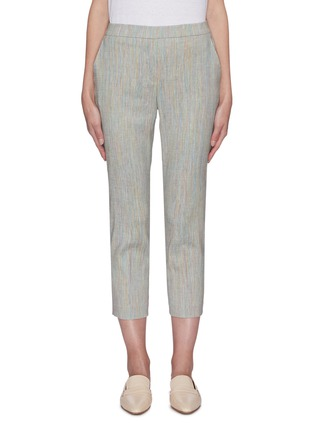 Main View - Click To Enlarge - THEORY - 'Treeca' linen blend suiting pants