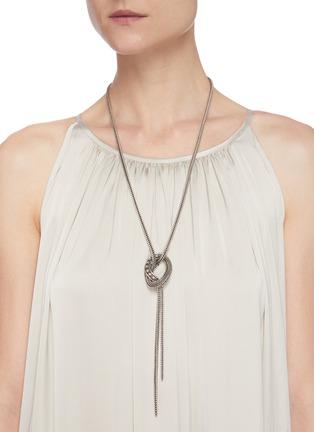 Figure View - Click To Enlarge - PHILIPPE AUDIBERT - 'Wollaston' Swarovski rhinestone rope necklace