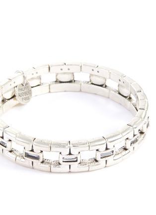 Detail View - Click To Enlarge - PHILIPPE AUDIBERT - 'Wilson' Swarovski crystal rhinestone bracelet