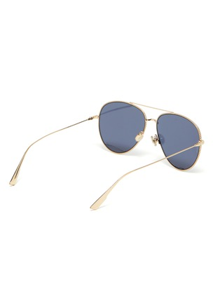 Figure View - Click To Enlarge - DIOR - DiorSociety3 metal frame aviator sunglasses
