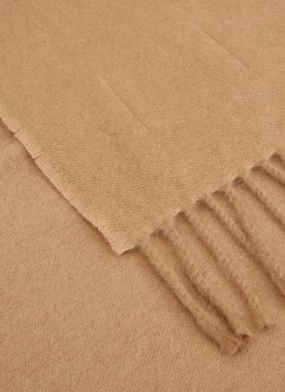 Detail View - Click To Enlarge - FRETTE - Pure cashmere throw – Beige
