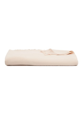 Main View - Click To Enlarge - FRETTE - PURE CASHMERE THROW – PINK