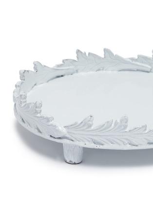 Detail View - Click To Enlarge - ASTIER DE VILLATTE - x Setsuko Klossowska de Rola Round Leaf Platter with Feet