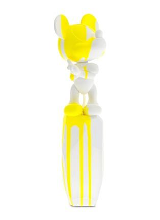 Main View - Click To Enlarge - LEBLON DELIENNE - x Arik Levy Mickey Flow Large Sculpture – White/Neon Yellow
