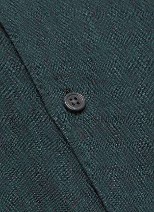 - THEORY - 'Irving' button up linen shirt