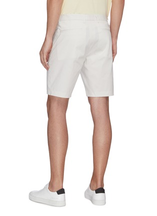 Back View - Click To Enlarge - THEORY - 'Zaine' stripe chino shorts