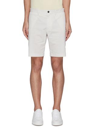 Main View - Click To Enlarge - THEORY - 'Zaine' stripe chino shorts