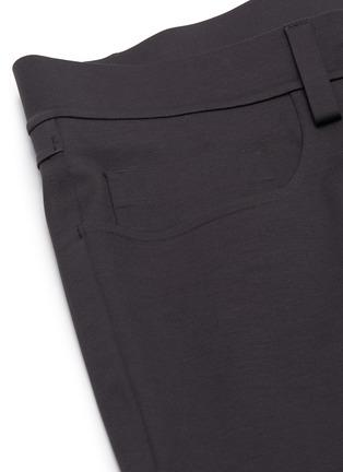 - THEORY - 'Tech Raffi' cotton blend pants
