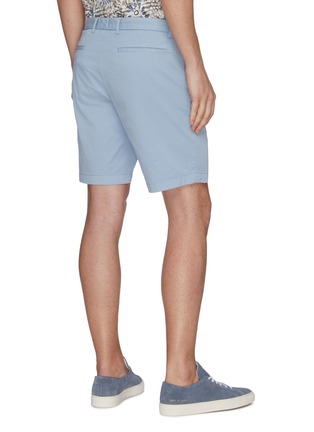Back View - Click To Enlarge - THEORY - 'Zaine' Patton dyed cotton shorts