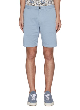 Main View - Click To Enlarge - THEORY - 'Zaine' Patton dyed cotton shorts