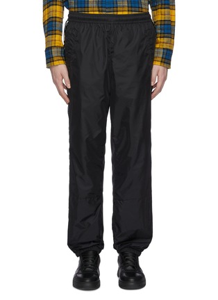 Main View - Click To Enlarge - ACNE STUDIOS - Face motif stripe track pants
