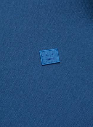 - ACNE STUDIOS - Face patch cotton sweatshirt