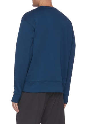Back View - Click To Enlarge - ACNE STUDIOS - Face patch cotton sweatshirt
