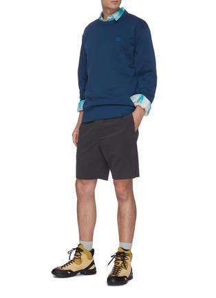Figure View - Click To Enlarge - ACNE STUDIOS - Face patch cotton sweatshirt