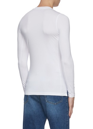 Back View - Click To Enlarge - KARMUEL YOUNG - 'Second Skin' tight long sleeve T-shirt