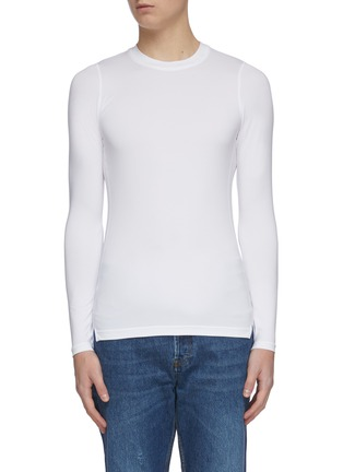 Main View - Click To Enlarge - KARMUEL YOUNG - 'Second Skin' tight long sleeve T-shirt