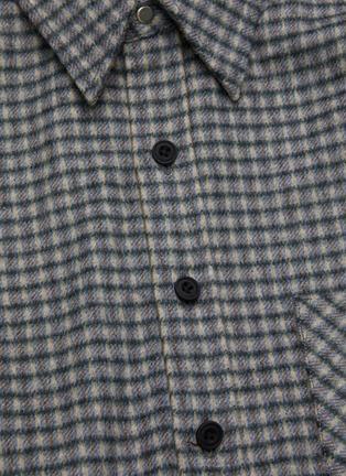 - KARMUEL YOUNG - Square fit virgin wool overshirt
