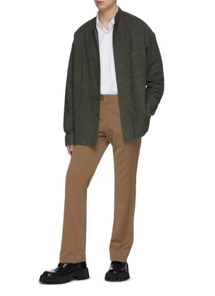 Figure View - Click To Enlarge - KARMUEL YOUNG - Wool suiting pants