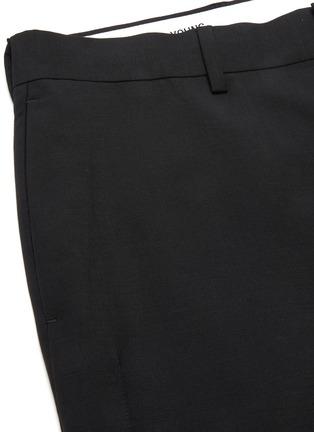 - KARMUEL YOUNG - Cuboid fit mohair pants