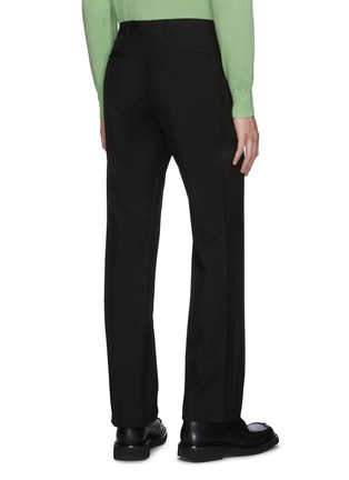 Back View - Click To Enlarge - KARMUEL YOUNG - Cuboid fit mohair pants