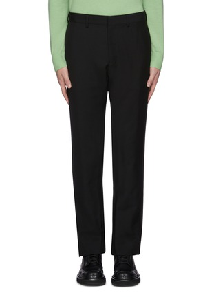 Main View - Click To Enlarge - KARMUEL YOUNG - Cuboid fit mohair pants