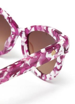 Detail View - Click To Enlarge - LELE SADOUGHI - Uptown' cat eye sunglasses