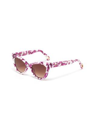 Main View - Click To Enlarge - LELE SADOUGHI - Uptown' cat eye sunglasses