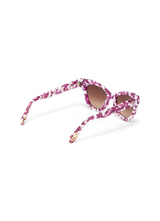 Figure View - Click To Enlarge - LELE SADOUGHI - Uptown' cat eye sunglasses