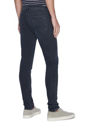Back View - Click To Enlarge - RAG & BONE - 'Fit 1' dark wash skinny jeans