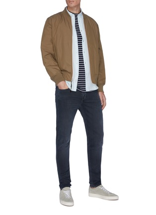 Figure View - Click To Enlarge - RAG & BONE - 'Fit 1' dark wash skinny jeans