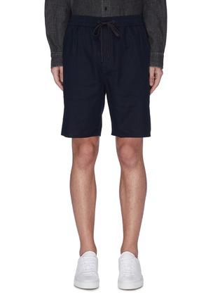 Main View - Click To Enlarge - RAG & BONE - 'Reed' drawstring shorts