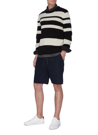 Figure View - Click To Enlarge - RAG & BONE - 'Reed' drawstring shorts