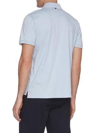 Back View - Click To Enlarge - RAG & BONE - Interlock polo shirt