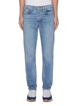 Main View - Click To Enlarge - RAG & BONE - 'Fit 1' faded straight fit jeans