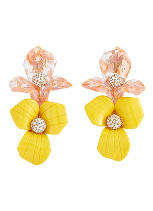 Main View - Click To Enlarge - LELE SADOUGHI - Trillium Bouquet' floral crystal earrings