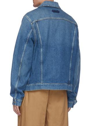 Back View - Click To Enlarge - MAISON MARGIELA - Vintage washed denim jeans