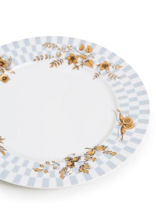 Detail View - Click To Enlarge - FORNASETTI - Coromandel dessert plate – Coromandel Egocentrismo