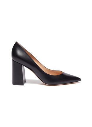 Main View - Click To Enlarge - GIANVITO ROSSI - Piper' leather pumps