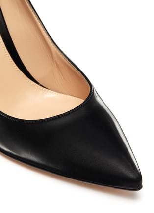Detail View - Click To Enlarge - GIANVITO ROSSI - Gianvito 85' leather pumps