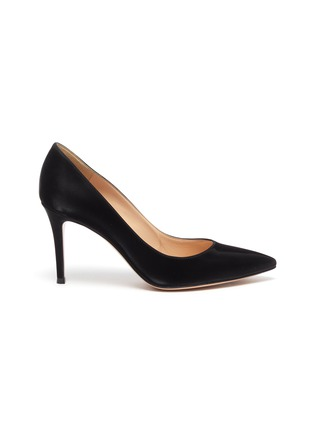 Main View - Click To Enlarge - GIANVITO ROSSI - Gianvito 85' leather pumps