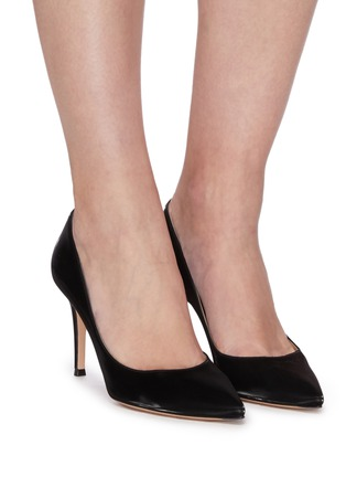 Figure View - Click To Enlarge - GIANVITO ROSSI - Gianvito 85' leather pumps