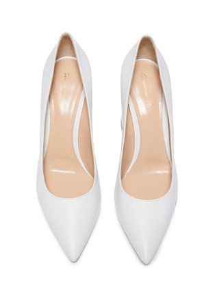 Detail View - Click To Enlarge - GIANVITO ROSSI - Piper' leather pumps