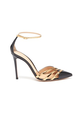 Main View - Click To Enlarge - GIANVITO ROSSI - Avenue' point toe d'orsay strappy pumps